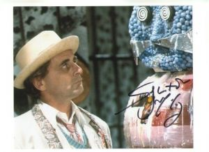 Sylvester McCoy from Dr Who